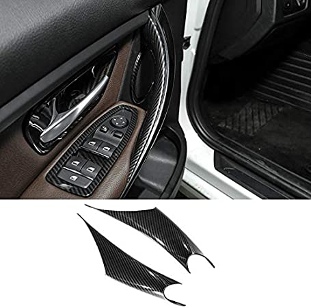 TTCR-II Door Handle Inner Trim Decor for BMW 3//4 Series Right//Left Door Handle Pull Strap Inner Bracket Compatible with BMW 320,328,330,335,M3 F30//F31 2012-2018 and BMW 428 435,M4 F32//F36 2014-2017