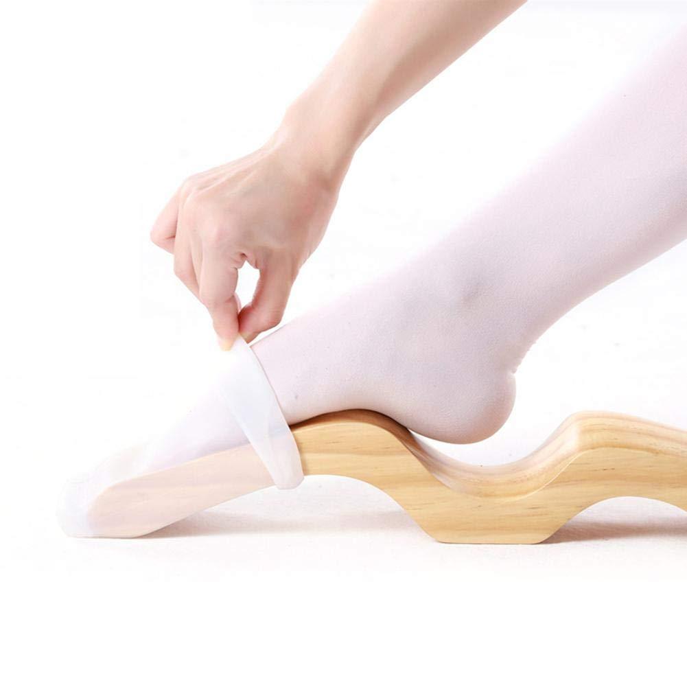 Basisago Foot Stretcher Enhancer,Ballet Dance Foot Stretch Stretchcher Enhancer Arch avec Bande /élastique pour Ballet et Danse Yoga Gymnastique