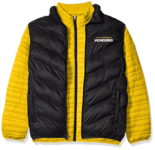 G-III Sports NHL Pittsburgh Penguins Men's Three & Out 3-in-1 Systems Jacket, Large, -