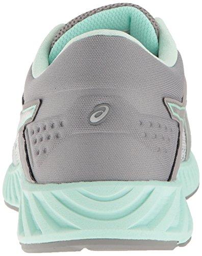 Asics Womens Fuzex Lyte 2 Chaussure De Course Gris Moyen / Argent / Baie