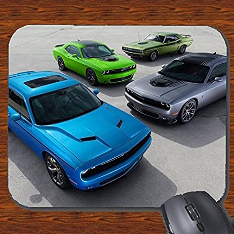 Amazon Com Crazy Happy Tees Dodge Challenger Old To New Model Mouse