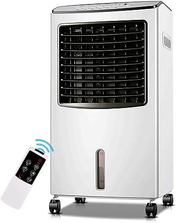 Zl Fan Ventilador de Aire Acondicionado Tipo frío y Caliente Aire Acondicionado pequeño Ventilador de hogar: Amazon.es: Hogar