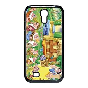 Samsung Galaxy S4 9500 Cell Phone Case Black Snow White and the Seven Dwarfs Character Bashful idhu