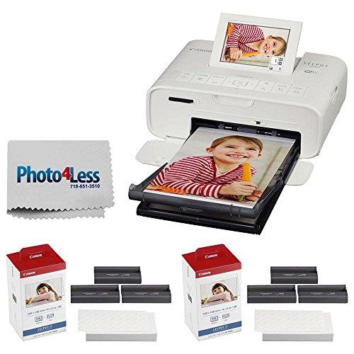 Canon SELPHY CP1300 Compact Photo Printer  + 2X Canon KP-108
