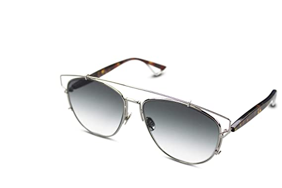 f823daa5834 Image Unavailable. Image not available for. Color  CHRISTIAN DIOR  TECHNOLOGIC Havana Grey Gradient Flat Sunglasses
