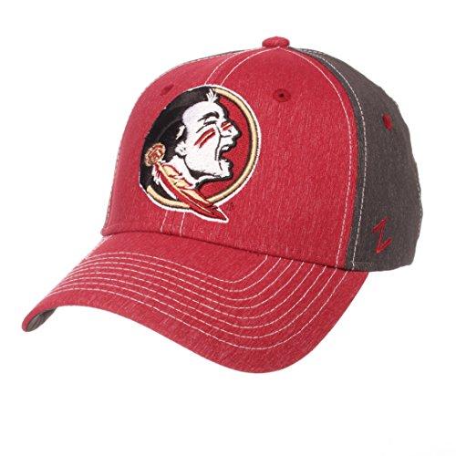 ZHATS NCAA Florida State Seminoles Men's Dusk Hat, X-Large, Team Color/Dark Grey