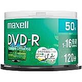 maxell 録画用 DVD-R 標準120分 16倍速 CPRM プリンタブルホワイト 50枚スピンドルケース DRD120WPE.50SP