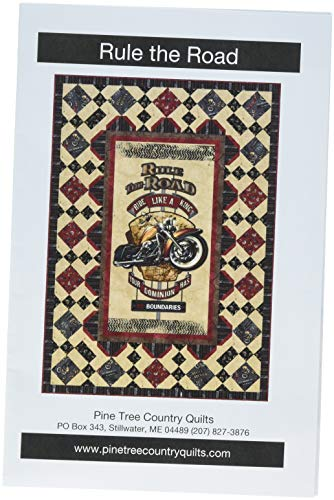 Pine Tree Country Quilts PT1654 Rule The Road ()