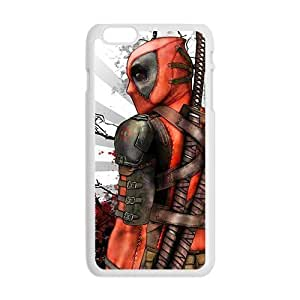 GKCB Deathlok red blood warrior Cell Phone Case for Iphone 6 Plus