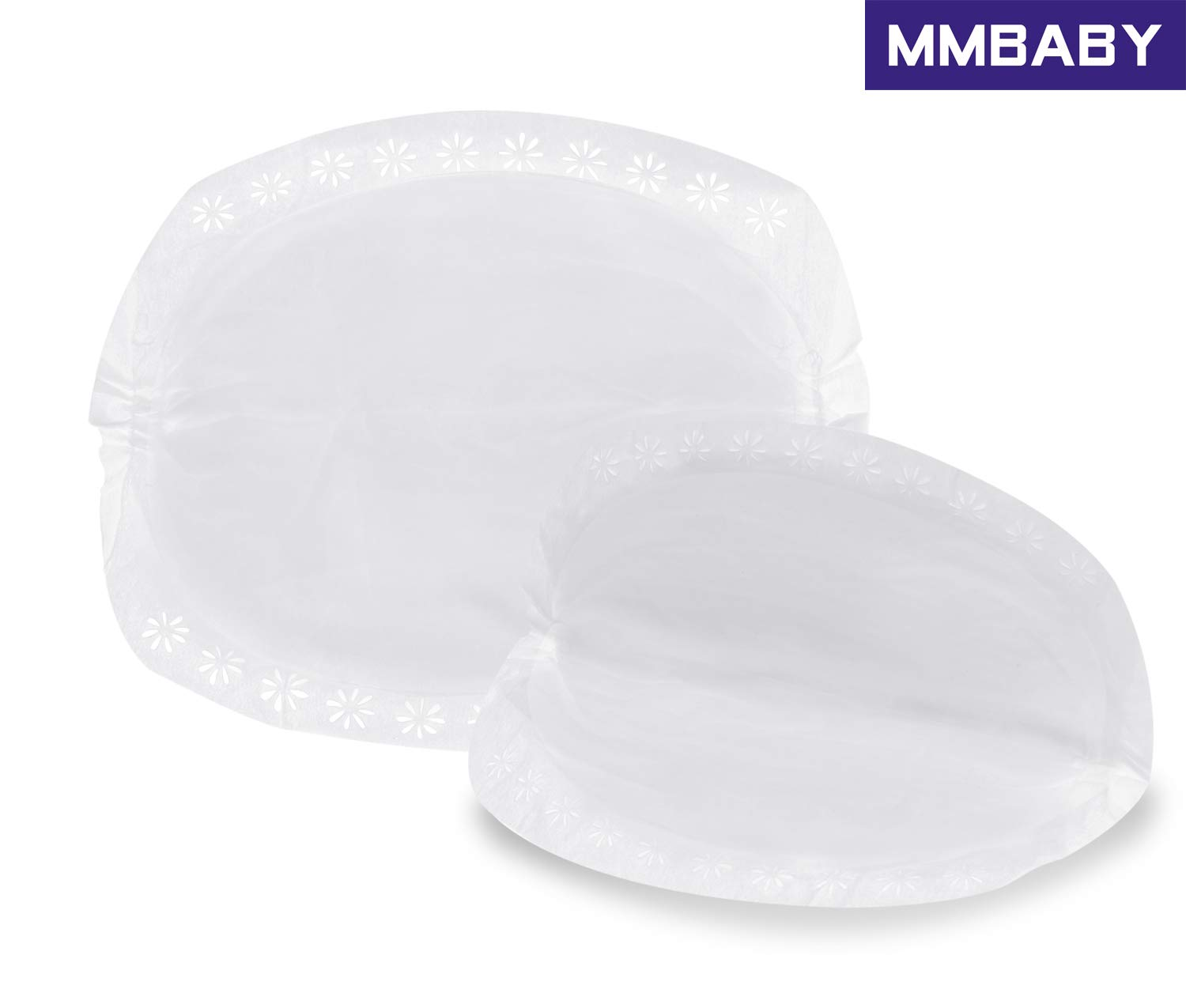 MMBABY Nursing Pads,1 Packs of 60 Stay Dry Disposable Breast Pads 2 Packs of 120 Count