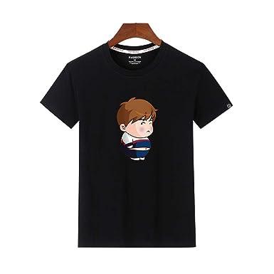 MERICAL - Camiseta de Manga Corta de Manga Corta Negro XXX-Large ...