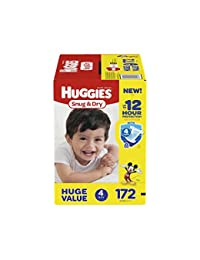 HUGGIES Snug & Dry Diapers, Size 4, 172 Count BOBEBE Online Baby Store From New York to Miami and Los Angeles