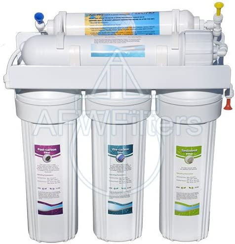 5-stage Zoi Alpha Pure RO Water Filter 50 GPD – Removes Fluoride, Lead, Arsenic, and MORE from Drinking Water