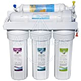 5-stage Zoi Alpha Pure RO Water Filter 50 GPD - Removes Fluoride, Lead, Arsenic, and MORE from Drinking Water