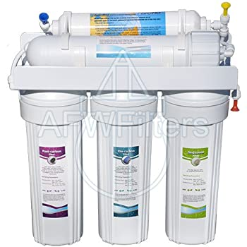 5 Stage Zoi Alpha Pure Ro Water Filter 50 Gpd Removes