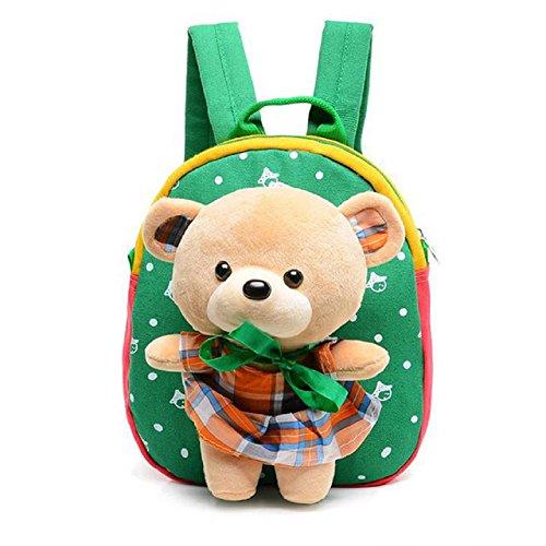 (School Bag Baby Toddler Animal Storage Funny Dolls Toy Cute Tedy Bear)