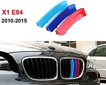 DIYUCAR Accessori decorativi colorati per griglia anteriore auto X1 F48 2020 3 pezzi