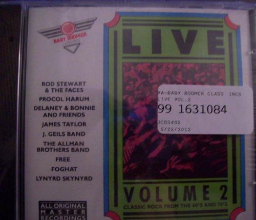 Price comparison product image Baby Boomer Classics: Live Volume 2