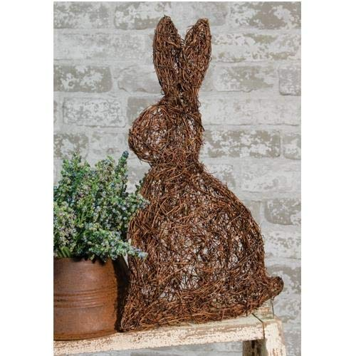 (Country Crafts Flat Angel Vine Bunny, 7.5X12 (Pack of 2))