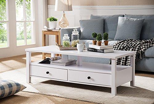Amazon Com Smart Home 161563ct Modern Coffee Table For Living