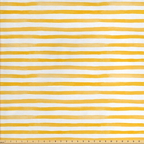mustard yellow upholstery fabric - 3