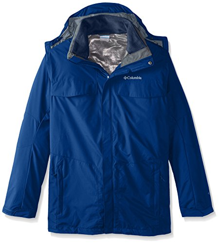Columbia Pants Sportswear Work (Columbia Sportswear Men's Tall Bugaboo Interchange Jacket, Marine Blue/Collegiate Navy, XLT)
