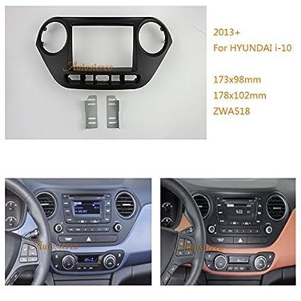ZWNAV 11 - 518 2 DIN Carcasa decorativa para radio de coche ...