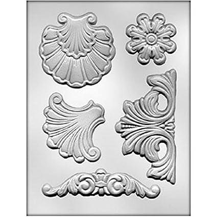 Prima MarketingLarge Fleurish IOD Vintage Art Decor Moulds