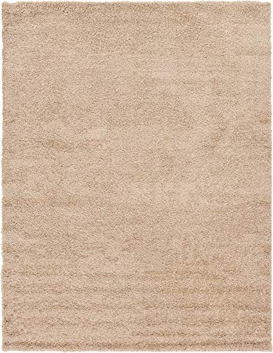 Solid Shag Collection Area Rug...