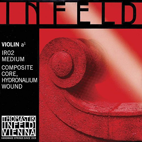 (Thomastik Infeld Red 4/4 Violin A String - Hydroalium/Synthetic - Medium Gauge)