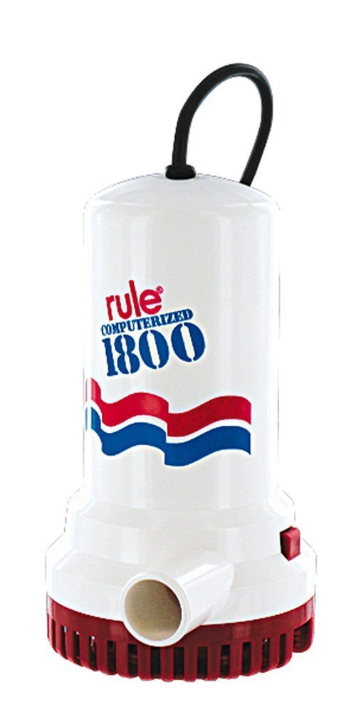 超高品質で人気の Rule A53S Rule 1800 Sump-Utility Pump with 8 in. Cord - 110V Automatic   B000O8D8AW, beauty story 96b36b5a