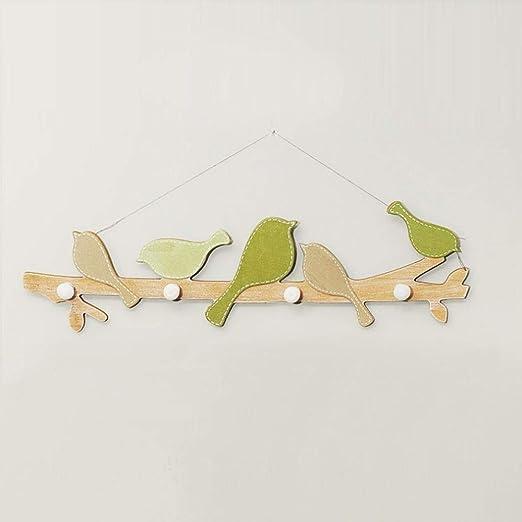 SHIE Baldas flotantes Hook Green Bird Original Colgador De ...