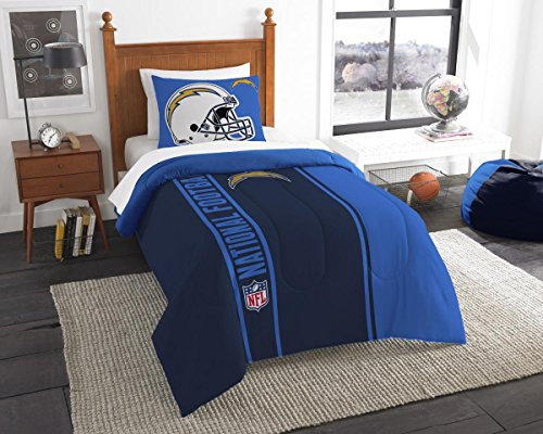 San Diego Chargers Comforter (Northwest NOR-1NFL835000079BBB 64