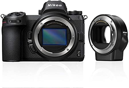 Nikon Z6 System Digital Camera Ftz Adapter 64gb Xqd Camera Photo