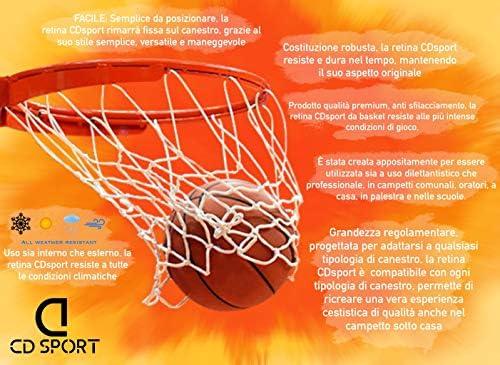 CDsport - Red para canasta de baloncesto en polipropileno, modelo ...