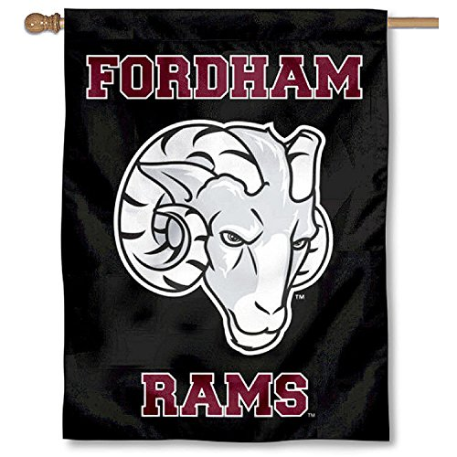 Fordham Rams Double Sided House Flag by College Flags and Banners Co.