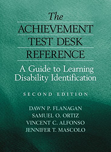 (The Achievement Test Desk Reference: A Guide to Learning Disability)