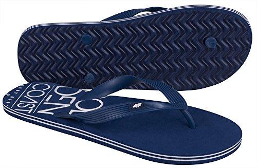4F Ciabatte Ciabatte Infradito Ciabatte Infradito Uomo, Zoccoli Pantoletten scarpe da spiaggia esan Dalen Infradito Sauna spiaggia Beach klm001SS16(blu scuro,)