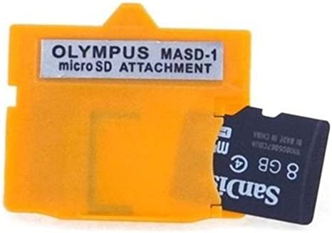 Amazon.com: Neon MASD-1 Olympus xD Picture Card adaptador de ...