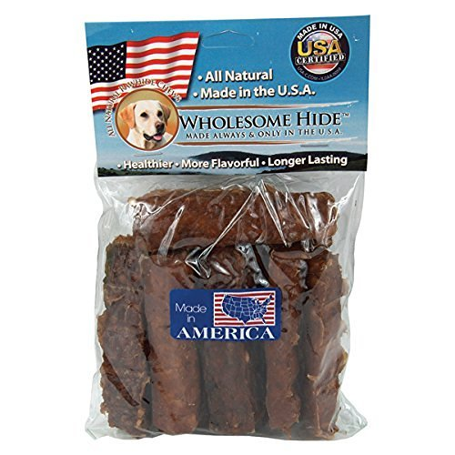 Wholesome Hide Chunkees Beef Flavor Dog Chew - 8 ounce
