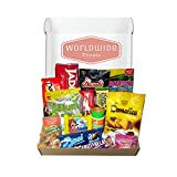 Middle East Snack Mix Package by WorldWideTreats - Snacks from Turkey, Jordan, Israel, Palestine and more!