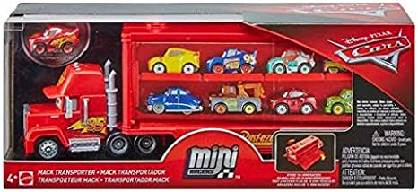 Disney Pixar Cars Mini Racers Mack Transporter