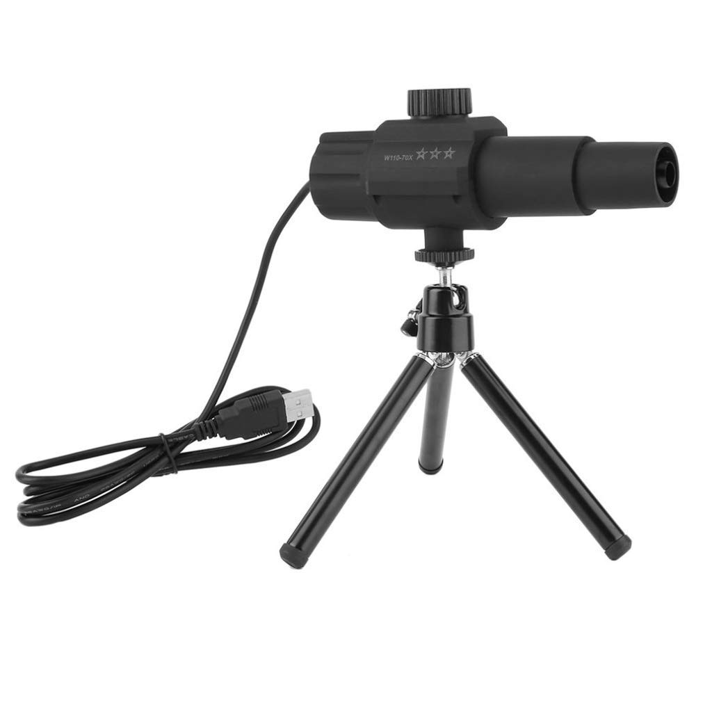 Jzmae New Smart Digital USB Telescope Monocular Adjustable Scalable Camera Zoom 70X HD 2.0MP Monitor for Recording Video by Jzmae