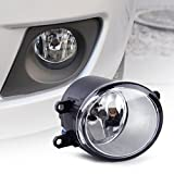 Loovey Fog Light Lamp Cover Right 8121006070 812100D041 For Toyota RAV4 Camry Solara Yaris Matrix Corolla Prius Sienna Scion