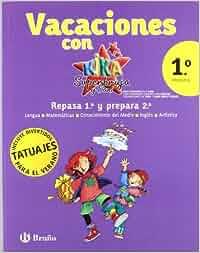 Vacaciones Kika 1º primaria: Kika superbruja Castellano