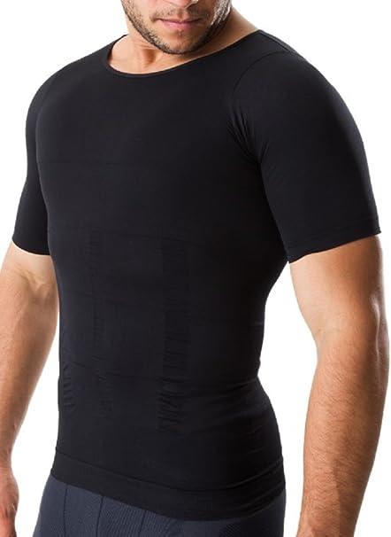 InField 加圧シャツ インナー 補正下着 姿勢矯正 ダイエット 着圧 コンプレッションウェア