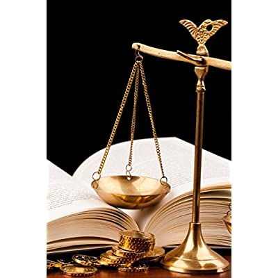 Still Life Money and Balance Scale Justice Concept Wall Decor, Created Just For You, Amazing Portrait