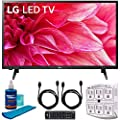 "LG 32LM500BPUA 32"" LED HD 720p TV (2019) w/Accessories Bundle Includes, 2X 6ft High Speed HDMI Cable, SurgePro 6-Outlet Surge Adapter w/Night Light and Universal Screen Cleaner"