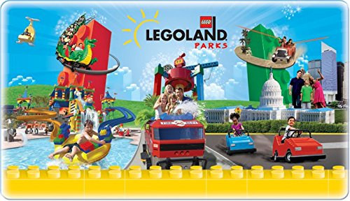 LEGOLAND Parks KIDS GO FREE Voucher Coupon valid at Legoland California, Legoland Florida, Legoland Discovery Center Atlanta, Chicago, Dallas/Fort Worth, Kansas City, Westchester, or Toronto, Canada.