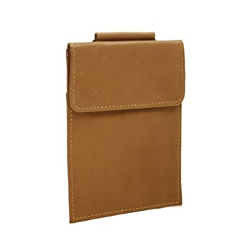 fadcafe41ee8 Piel Leather Hanging Passport Holder, Saddle, One Size